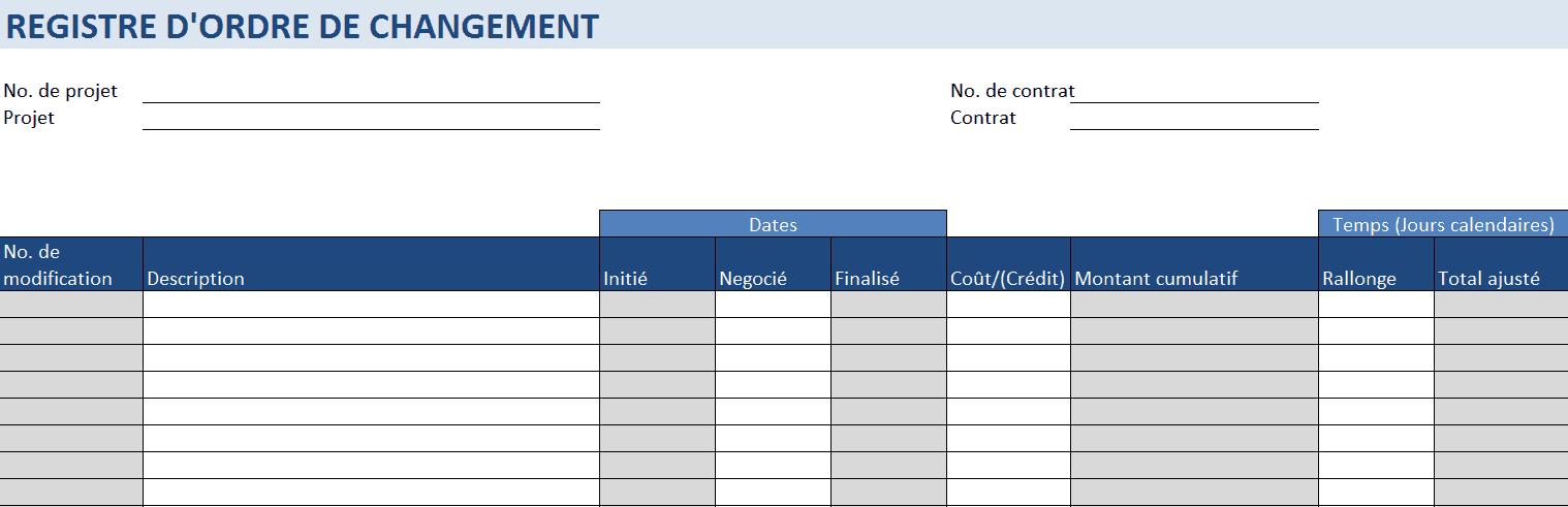 22ca06f93e8 Modèles gratuits de gestion de construction pour Excel