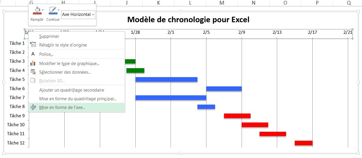 Utilisez Ce Modele Gratuit De Diagramme De Gantt