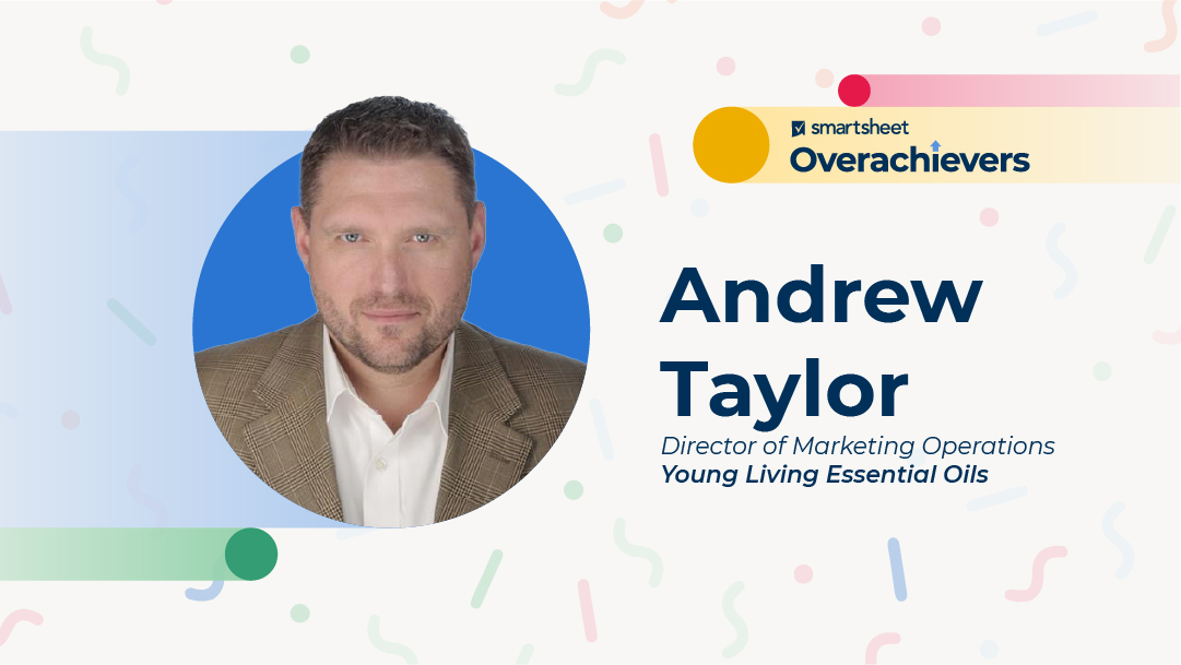 Headshot of Andrew Taylor, director of marketing operations at Young Living