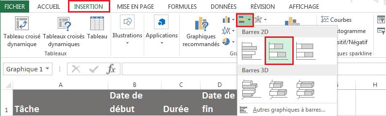 Comment Creer Un Gantt Dans Excel