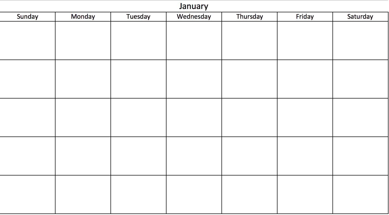 Modèles D Agendas Excel Gratuits Et Imprimables Pour 2019 Et