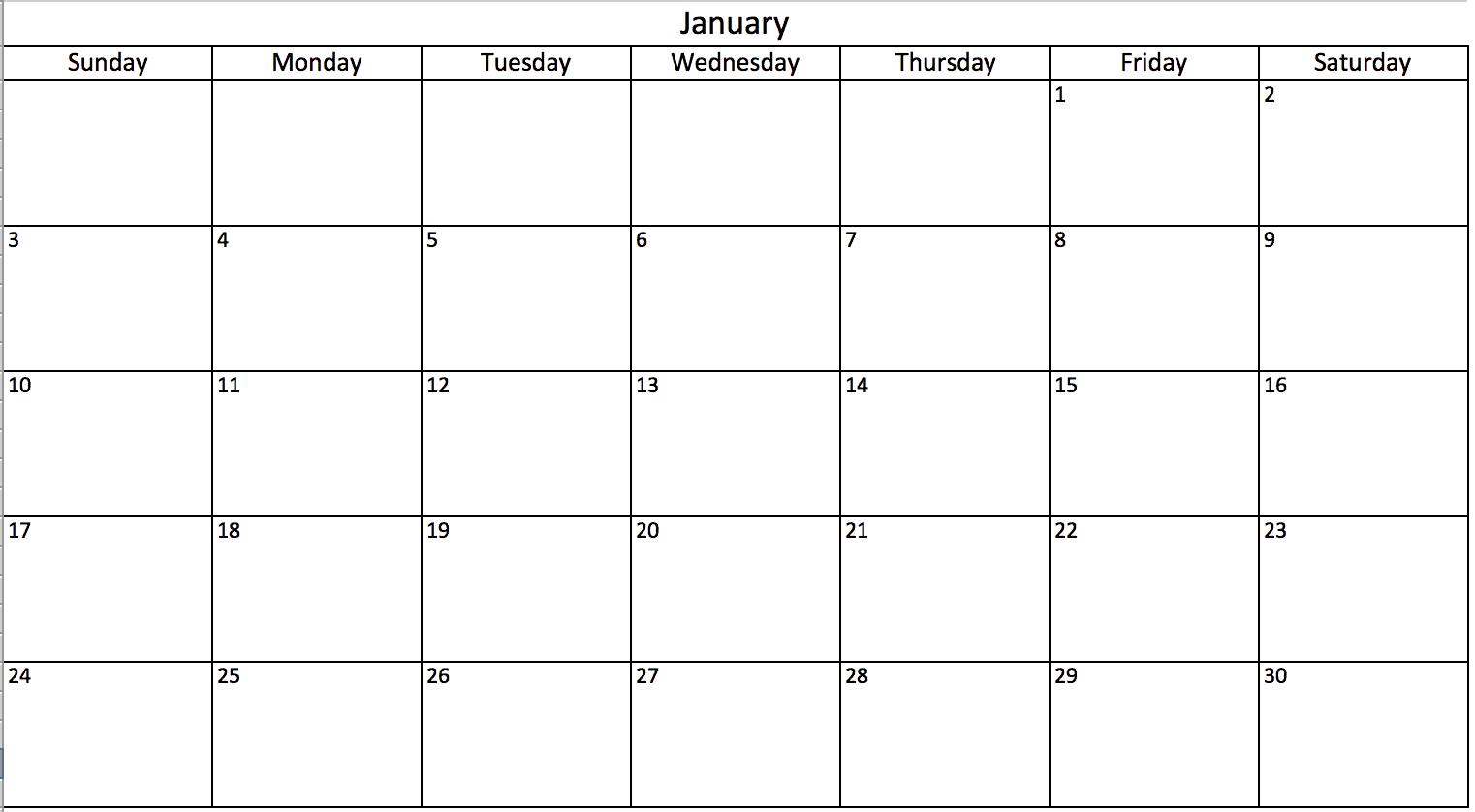 Modèles Dagendas Excel Gratuits Et Imprimables Pour 2019 Et